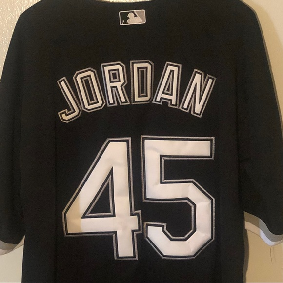 best sneakers e0d91 3ef3a Michael Jordan Chicago White Sox Majestic Jersey